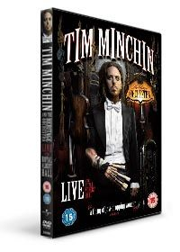 Tim Minchin and the Heritage Orchestra  Live at the Royal Albert Hall DVD by Tim Minchin